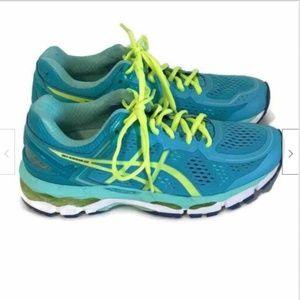 Asics Gel Kayano 22 Womens Running Shoes SZ 8